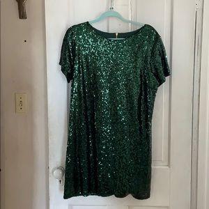 Green Sparkly Dress